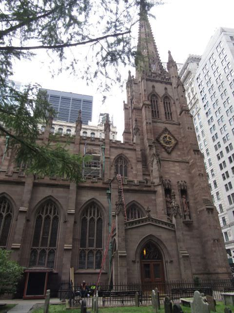 A Trinity Church em Nova York