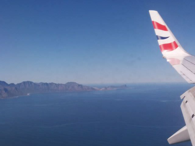 Voando para Cidade do Cabo com a Britsh Airways