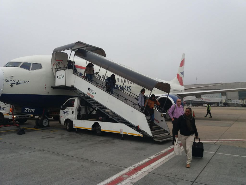 Voando para Cidade do Cabo com a British Airways
