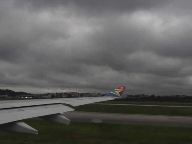 Voando para Joanesburgo com a South African Airways