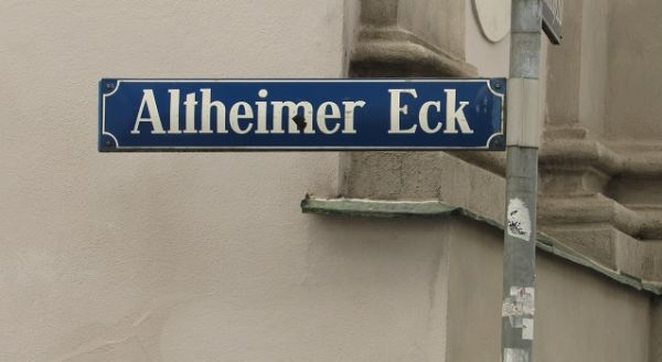 Rua de Munique - Altheimer Eck