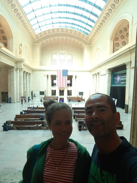 A Union Station em Chicago