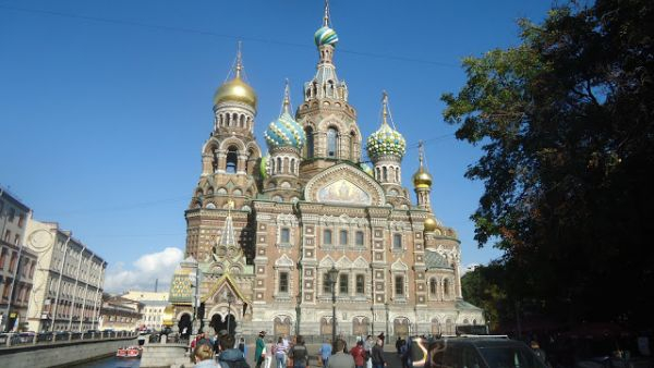 Catedral do Sangue Derramado #russia