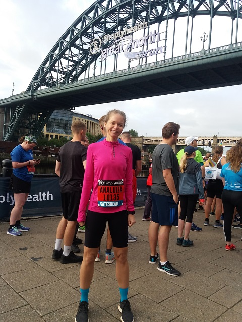 Great North 5k Newcastle - Gateshead #Inglaterra #viagem